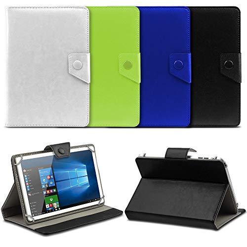 UC-Express® Hochwertige Tablet Schutzhülle für Odys Lux 10 Tasche Hülle mit Standfunktion kombiniert Schutz und Design in 9 hochwertigem Kunstleder Cover Case Universal Farbauswahl, Farben:Lila