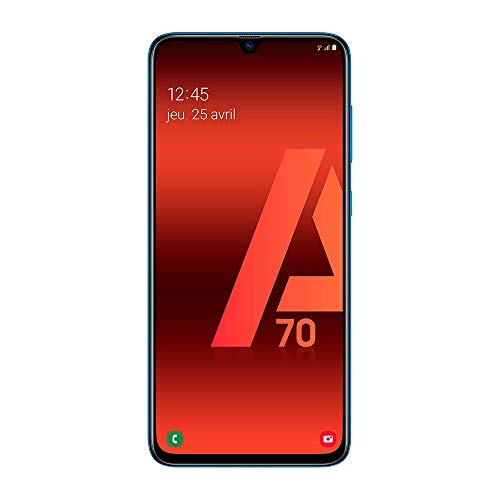 Samsung Galaxy A70 - Smartphone 4G (6,7'' - 128GO - 6 GO RAM) - Blue - Version France