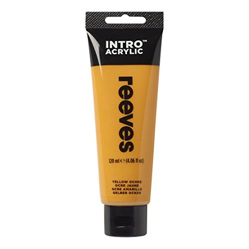 Reeves - Pintura acrílico, 120 ml, Ocre amarillo