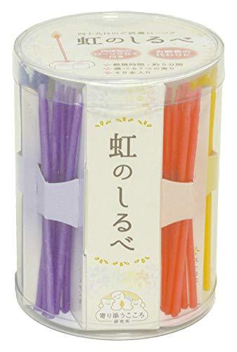 ペット用 ろうそく 虹のしるべ 肉球 ローソク立て 付き セット 7種類のキャンドル