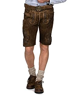 Stockerpoint Men's Hose Aron Traditional Costume Lederhose, Brown (Flannelette Blue), W52 (B073S782NT) | Amazon price tracker / tracking, Amazon price history charts, Amazon price watches, Amazon price drop alerts