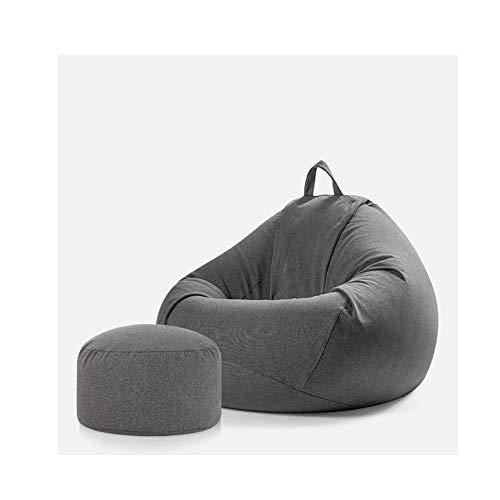 Puf con juego de sillón Beanbag para adultos Puf Con Respaldo Para Adultos/Funda De Bolsa De Frijoles/Puff Funda De Bean Bag/Bolsa De...