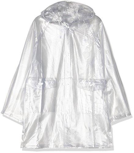 HKM Regenjacke, transparent, S