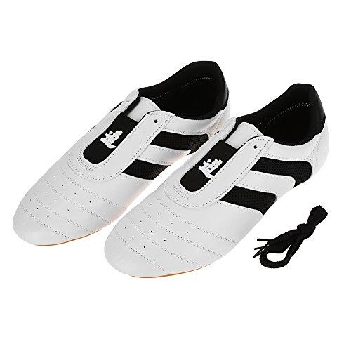 Alomejor Taekwondo Schuhe Boxen Kung Fu Taichi Trainning Schuhe rutschfeste Martial Arts Schuhe für Männer Frauen(44)