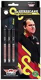 Bull's NL Steel Darts Kim Huybdr 90% PCT The Hurricane Steeltip Darts - Freccette in acciaio (24 grammi)