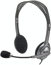 Logitech H110 Mikrofonlu Kulaklık