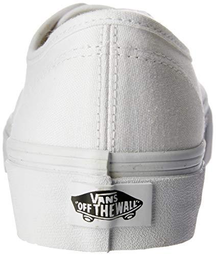 Vans U Authentic - Baskets Mode Mixte Adulte, Blanc (True White), 40 EU