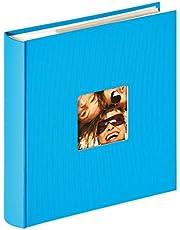 Walther Design Memo-Album Fun oceanblau, F Einsteckalbum Diversión, Azul Marino, 200 Fotos 11,5x15,5 cm
