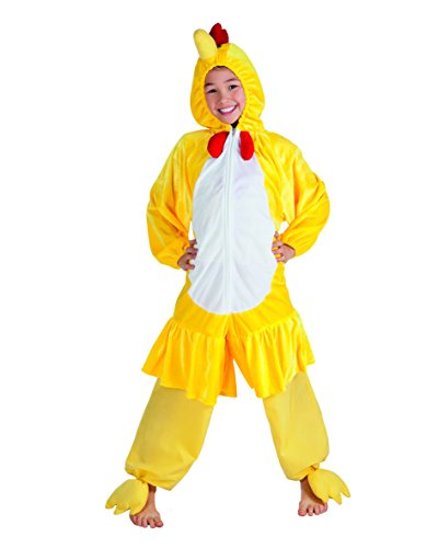Boland Costume Combinaison Peluche Animal Max 1,40 m Jaune