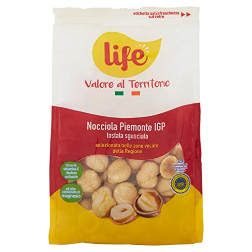 Life Nocciola Piemonte Igp Sgusciata Tostata - 200 g