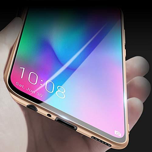 X-level für Honor 10 Lite Hülle, [Guardian Serie] Soft Flex Silikon Premium TPU Echtes Telefongefühl Handyhülle Schutzhülle Kompatibel mit Honor 10 Lite Case Cover - Gold - 2