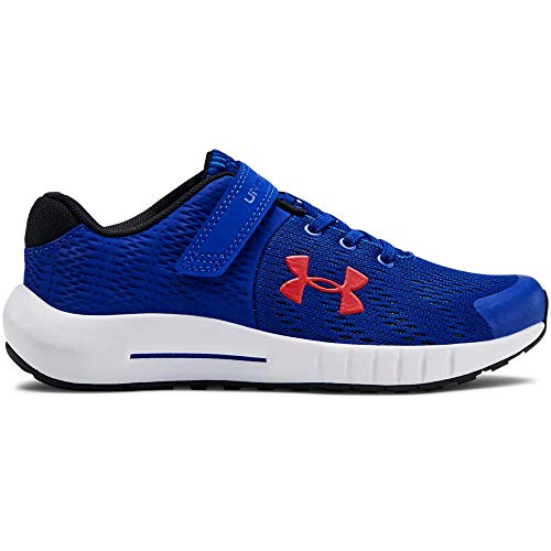 UNDER ARMOUR Kids' Pre School Pursuit BP Alternate Closure Sneaker, Royal (401)/White, 1.5