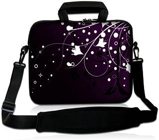 e655d4e31c Luxburg® design housse sacoche pochette en néoprène avec bandoulière et pochette  pour ordinateur portable 10
