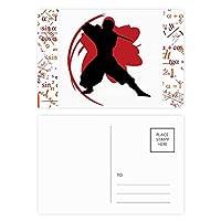黒人英語の引用を失うの重量 公式ポストカードセットサンクスカード郵送側20個