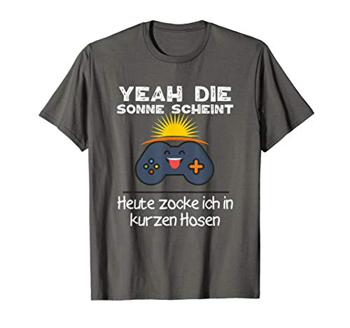 Gamer Sonne Lustiges Zocker Witziges Geschenk Spieler Player T-Shirt