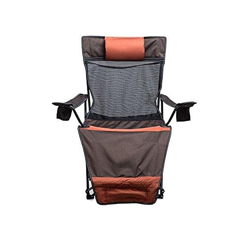 NYDZDM Silla de jardín reclinable Silla de Cubierta Silla Plegable Multifuncional