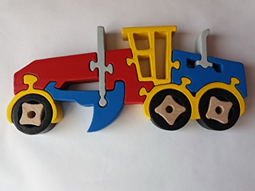 Puzzle de madera hecha a mano grado máquina niveladora