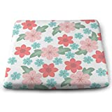 MUZIBLUE Fashions Outdoor Cushion Memory Foam, Durable, Superior Comfort and Softness, Reduces Pressure, Washable, 13.7 X 15 Inches