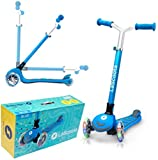 Lascoota Kick Scooter for Kids - Adjustable Height...