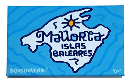 DONSOUVENIR IMAN Mallorca. Modelo: Mapa. MAGNETICO