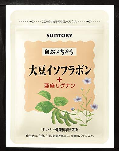 サントリーウエルネス『大豆イソフラボン+亜麻リグナン』