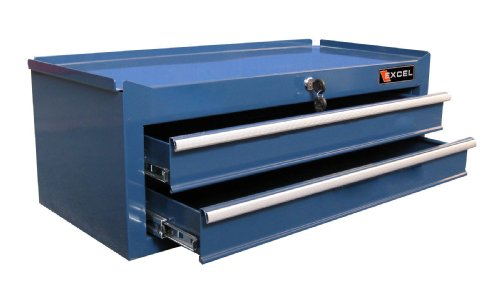 Excel TB2502X-Blue 26-Inch Steel Intermediate Chest, Blue