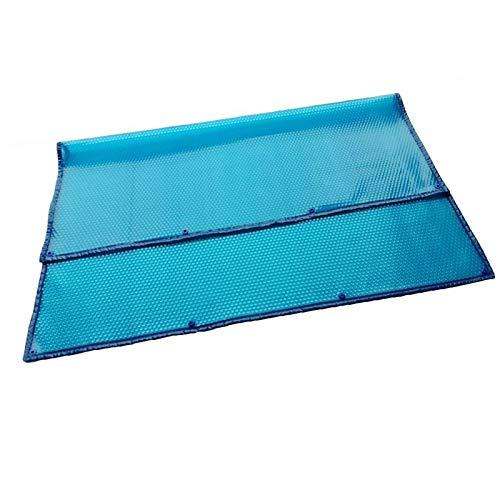 JLXJ Cobertor Solar Piscinas Rectangular de Invierno Cubierta de Piscina, Burbuja Solar Térmica Film Lona Impermeable para Jacuzzis Piscinas sobre El Suelo (Size : 5m x 7m(16ft×23ft))