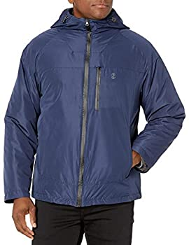 IZOD Men s Rip Stop Hooded 3-1 Systems Jacket Navy XX-Large