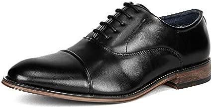Bruno Marc Men's Black Lace Up Soft Cap-Toe Oxfords Formal Dress Shoes Size 11 M US Louis_2