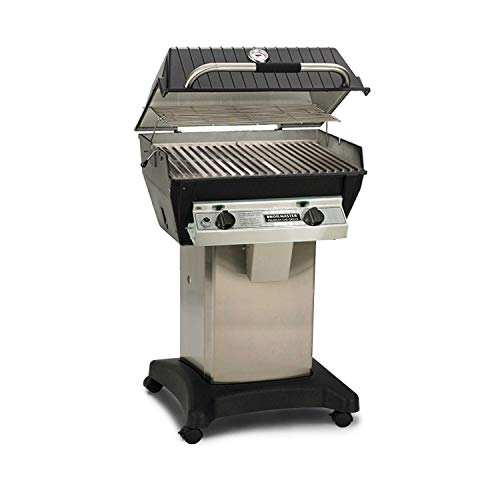 Broilmaster R3 Infrared Propane Gas Grill On Stainless Steel Cart