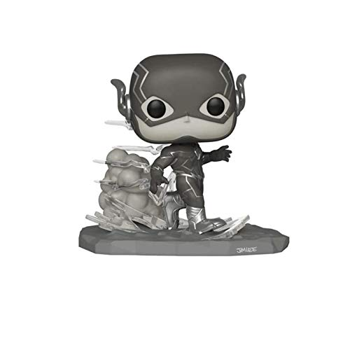 Funko Pop Heroes : The Flash - Jim Lee (Black and White Exclusive) Figure Gift Vinyl 3.75inch for Heros Movie Fans(Without Box) SuperCollection