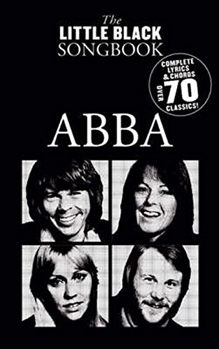 The Little Black Songbook: Abba Lc: Songbook für Gesang, Gitarre (Keyboard)