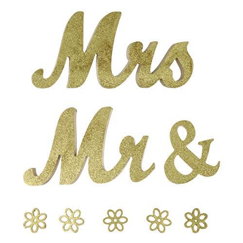 3 unids/set creativo boda adorno madera letras ornamento decoración del hogar
