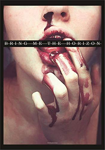 Heart Rock Licensed Flagge Bring Me The Horizon – Blood Lust, Stoff, Mehrfarbig, 110 x 75 x 0,1 cm
