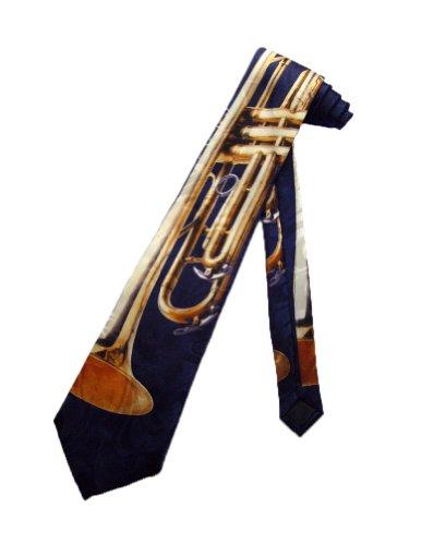 Steven Harris cravate trompette - noir - taille unique