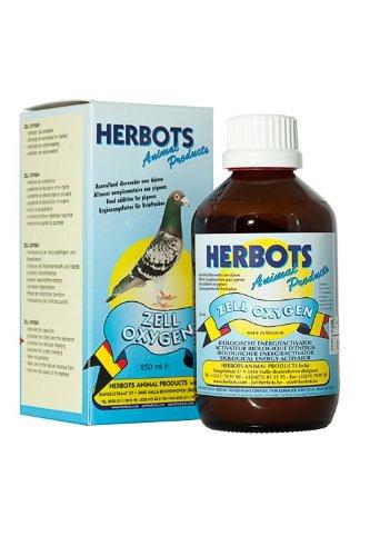 herbots Zell oxígeno 250ml. Vida de levadura celdas. Para palomas, pájaros y aves de corral