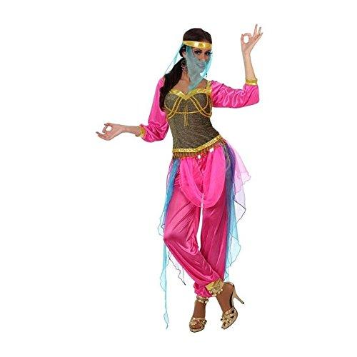 Atosa-10067 Bailarina Disfraz Árabe, color fucsia, X l (10067)