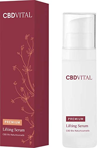 Premium CBD Organic Natural Cosmetics Lifting Serum Firming Anti-Ageing Care with Immediate Effect