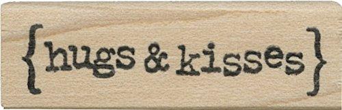 Tampon en caoutchouc - Hugs & Kisses - Cats Life Press 778 B