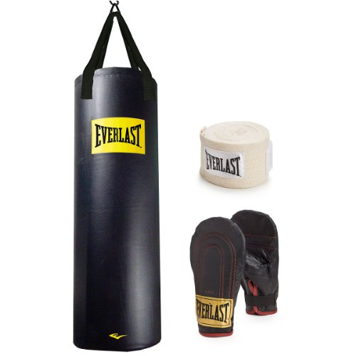 Everlast 100 lb. Heavy Bag Kit