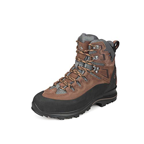 Clorts Premium Mens High Hiking Waterproof Boots | Perfect for Ourdoor Backpacking Trekking Trail Hiker Shoes Kahki