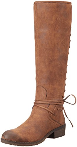 Very Volatile Women's Miraculous Riding Boot, Tan, 7.5 B US