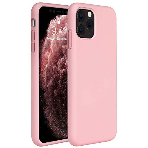 Capa Tpu Fosca Para Iphone 11 Pro Max com Tela de 6.5Polegadas - Capinha Case De Proteção Ultra Fina Slim Material Silicone Foscovv (Pink)