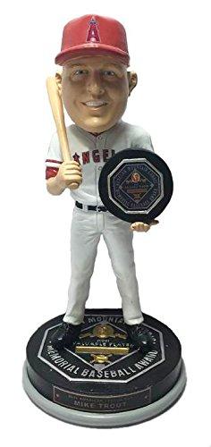 Mike Trout Los Angeles Angels 2016 AL MVP Award Series Bobblehead MLB