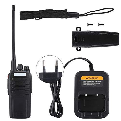 ANGGREK Walkie Talkie Portatile A9 10W Ham Radio 10KM UHF 400-480MHz Radio bidirezionale Portatile(Unione Europea)