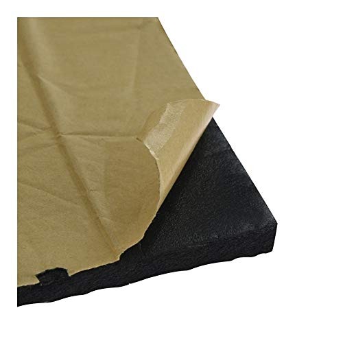 YIBANG-DIANZI 5pcs 3D Printer Heat Insulation Cotton 200/220/310mm Heatbed Sticker Foil Self-adhesive Insulation Cotton (Size : 235x235mm)