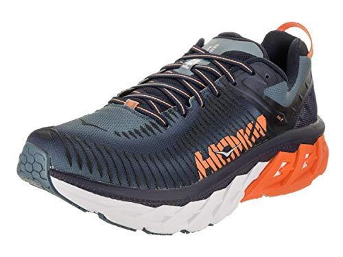 Price comparison product image HOKA ONE ONE Men's Arahi 2 Running Shoe Black Iris / Bluestone Size 10 D US
