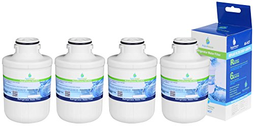 4x AH-HOT compatibele waterfilter voor koelkast Hotpoint C00300448, Thomson THSBS90WDWH, SXBD922FWD, capsule CAFF205, Indesit, Ariston, Electrolux