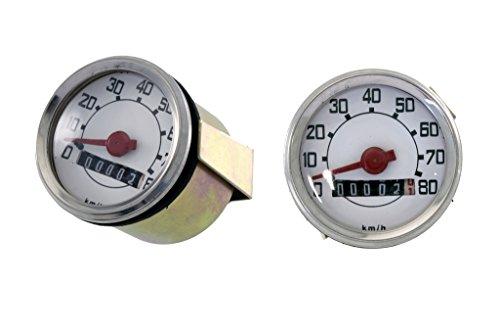 RMS Compte-km pour Vespa 50 type rond (compteur kilométrique)