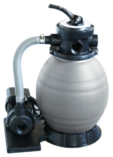 Blue Wave 12-Inch Sand Filter System with 1/2 HP Pump for Above...